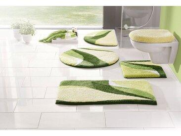 my home Badematte »Magnus« , Höhe 20 mm, strapazierfähig, grün, grün