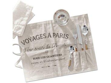 Mirabeau Platzset, »Voyage«