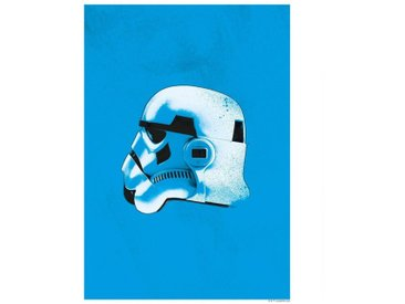 Komar KOMAR Wanddekoration »Star Wars Classic Helmets Stormtrooper«, ohne Rahmen, bunt, 30 cm, bunt