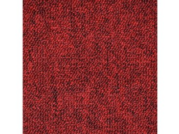 Teppichfliese »Neapel rot«, 20 Stück (5 m²), selbstliegend, rot, rot