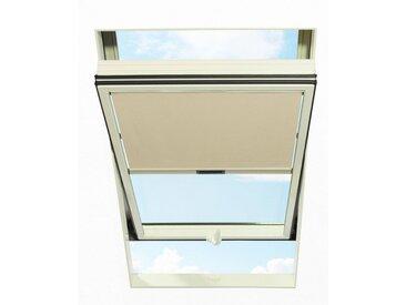 RORO Türen & Fenster RORO TÜREN & FENSTER Sichtschutzrollo BxL: 74x140 cm, beige, natur, natur