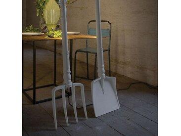 Karman Stehlampe »Tobia LED Schaufel Weiß«