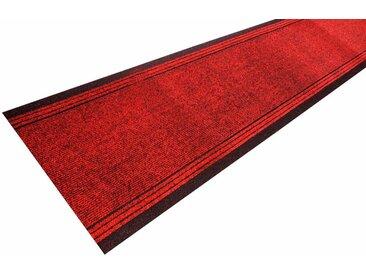 Living Line Läufer »Kongo«, rechteckig, Höhe 7 mm, Schmutzfangläufer, Schmutzfangteppich, Schmutzmatte, Meterware, In- und Outdoor geeignet, rot, rot