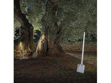 Karman LED Gartenleuchte »Tobia LED Schaufel Weiß«