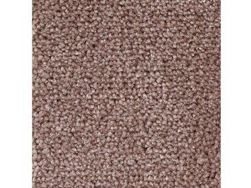 Bodenmeister BODENMEISTER Teppichboden »Velours gemustert«, Meterware, Breite 400/500 cm, rosa, rosa