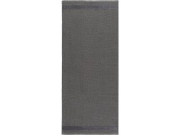 Egeria Saunatuch »Aron« (1-St), mit Samtstreifen, grau, steingrau