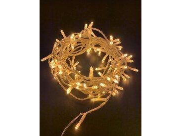 Natsen LED-Lichterkette, Warmweiss