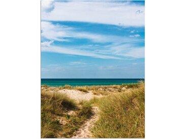Artland Wandbild »In den Dünen Dänemarks I«, Strand (1 Stück), Alu-Dibond-Druck