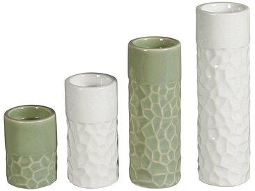 HTI-Living Teelichthalter »Teelichthalter Porzellan 4er Set«