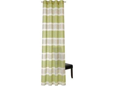 Neutex for you! Vorhang »Versa«, Ösen (1 Stück), HxB: 245x140, Ösenschal mit Metallösen, grün, moosgrün