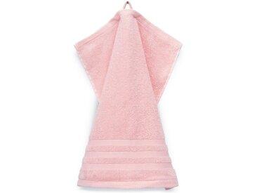 grace grand spa Waschlappen »Aktion« (3-tlg), mit attraktiver Streifen-Bordüre, rosa, rosa