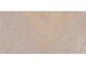 Slate Lite Dekorpaneele »Auro«, (1-tlg) aus robustem Echtstein, graubraun