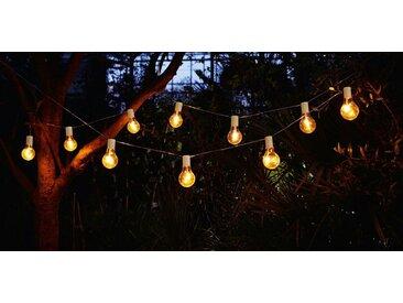 """HomeLiving Dekolicht »LED-Lichterkette """"Glühbirne"""" Kerze Schein Leuchte Lampe brennen«"""