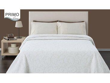 Primo Line Tagesdecke » Tagesdecke Grau Bettüberwurf aus Baumwolle und Polyester - Dessinwahl - Ref.469«