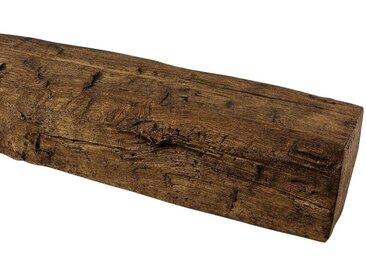 Homestar HOMESTAR Dekorpaneele 9 x 6 cm, Länge 2 m, Holzimitat, Eiche dunkelbraun, braun, dunkelbraun