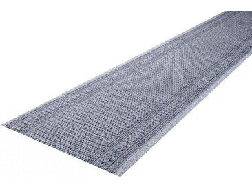 Living Line Läufer »Arabo«, rechteckig, Höhe 7 mm, In- und Outdoor geeignet, Meterware, grau, grau