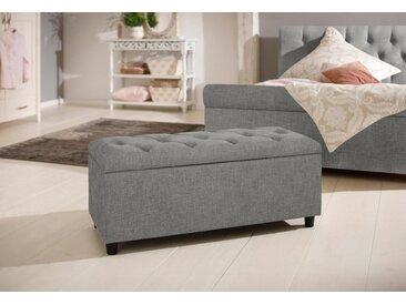 Home affaire Polsterbank »Goronna«, in 5 Farben, Sitzhöhe 41,5 cm, auch als Garderobenbank oder Bettbank geeignet, grau, grau