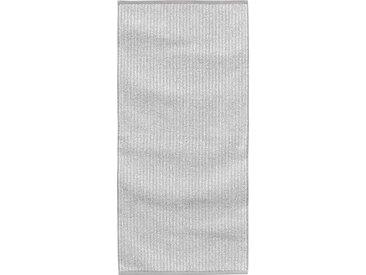 TOM TAILOR Handtücher »Melange« (2-St), aus Melangegarn, silberfarben, silberfarben - silberfarben