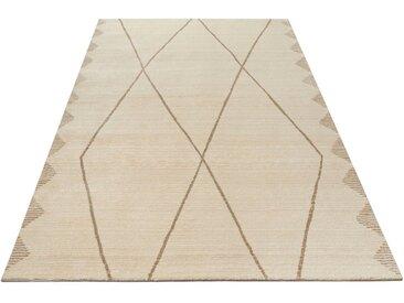 Home affaire Teppich »Linda«, rechteckig, Höhe 14 mm, Berber-Optik, natur, natur
