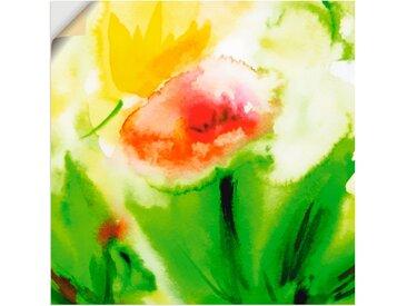 Artland Wandbild »Blumenliebe«, Blumen (1 Stück), in vielen Größen & Produktarten -Leinwandbild, Poster