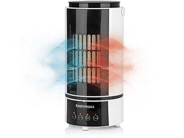EASYmaxx Kombigerät Luftreiniger, Ventilator und Heizlüfter, Kühlen & Heizen mit 4 Stufen