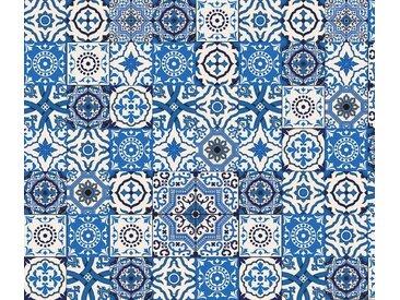 Artland Küchenrückwände »PGMart: Orientalische Fliesen«, blau, 70x60 cm, Blau