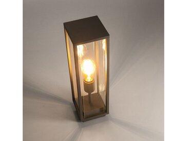 Licht-Trend LED Pollerleuchte »Vetro T Sockelleuchte mit massiven Glas«