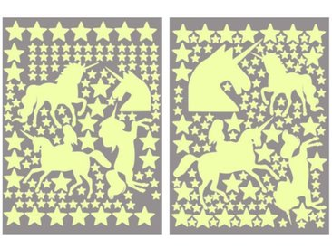 Wall-Art Wandtattoo »Leuchtsterne Einhörner Set« (1 Stück)
