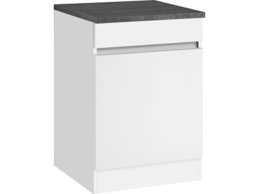 OPTIFIT Spülenschrank »Roth« Breite 60 cm, weiß, weiß