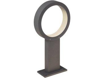 AEG Xever LED Außensockelleuchte 40cm anthrazit, schwarz, anthrazit