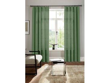 Bruno Banani Vorhang »Lagan«, Kräuselband (2 Stück), grün, oliv