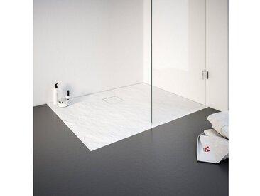 Schulte Duschwanne, quadratisch, Mineralguss, rechteckig, BxT: 900 x 1200 mm