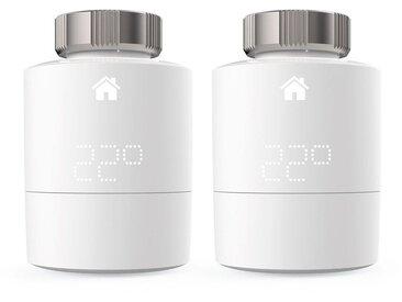 Tado Smart Home Zubehör »Smart Heizkörperthermostat - Duo Pack«, weiß, Weiß