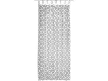 WILLKOMMEN ZUHAUSE by ALBANI GROUP Vorhang »Bühl«, Schlaufen (1 Stück), HxB: 245x140, Schlaufenschal mit Kräuselband