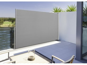 Gartenfreude Seitenarmmarkise »Seitenmarkise Lärmschutz 190 x 300 cm«, schwarz, Anthrazit