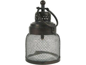 Ib Laursen Kerzenhalter »LED Laterne Windlicht Gartenlaterne H 29cm Metall Glas 3455-25«