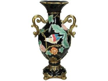 Engelnburg Dekovase » Hochwertige Blumenvase Vase Vogel Polyr«