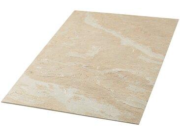 Slate Lite Dekorpaneele »Muster Sheet Cobre«, (1-tlg) aus Echtstein, natur, beige-hellbeige