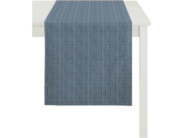 APELT Tischläufer »Avalon, Uni-Basic« (1-tlg), blau, blau