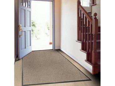 SKY Schmutzfangmatten Fußmatte »SKY Performa«, rechteckig, Höhe 7 mm, Antistatisch, braun, Ocker-Schwarz