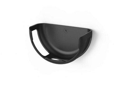 Hama Wandhalterung für Amazon Echo Dot (3. Generation) »platzsparende Lösung für Alexa«, schwarz, Schwarz