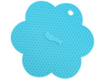 Kochblume Topflappen »Waben-Untersetzer«, Hitzebeständig bis 230°, blau, türkis