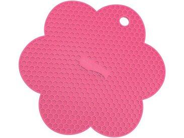 Kochblume Topflappen »Waben-Untersetzer«, Hitzebeständig bis 230°, rosa, pink
