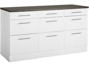 OPTIFIT Unterschrank »Mini«, 150 cm Breite, weiß, weiß