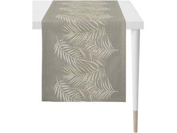 APELT Tischläufer »1306 Loft Style, Jacquard« (1-tlg), Fleckschutz, natur, natur-grau-beige