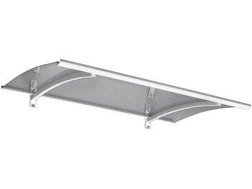 GUTTA Gutta Pultvordach »LED-Technik«, 150x90x22 cm, weiß-transparent, weiß, weiß