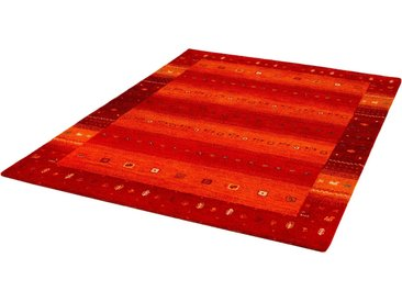 Dekowe Wollteppich »Samia«, rechteckig, Höhe 15 mm, Kurzflor, handgeknüpft, rot, rot