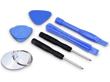 kwmobile Werkzeugset, 7in1 Handy Reparaturset - Smartphone Tablet Werkzeug Set - Reparatur Set für z.B. Apple iPhone iPad Samsung Galaxy Sony Huawei
