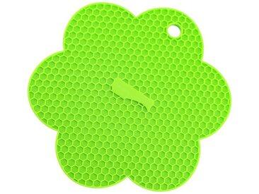 Kochblume Topflappen »Waben-Untersetzer«, Hitzebeständig bis 230°, grün, limette
