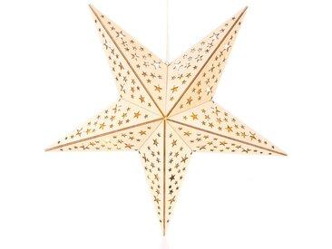 BONETTI LED Stern, mit 10-teiliger Lichterkette, 60 cm